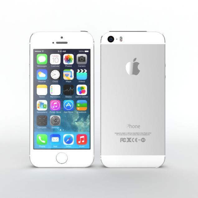 Apple iPhone 5S Silver price in pakistan. Apple's New Look